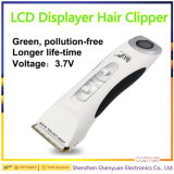 I capelli professionali Scissors il tagliatore di capelli elettrico dell'affissione a cristalli liquidi