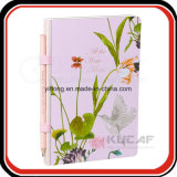 Kundenspezifische Druck-Ausgabe-kosmetisches förderndes Geschenk-Tagebuch-Tagesordnungs-Zapfen-Buch