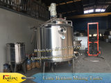Los tanques de acero inoxidable para mezclar