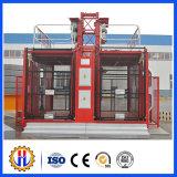 Alzamiento doble del pasajero de la jaula de Sc200 2ton/alzamiento de la construcción