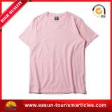 T-shirt 100% de bonne qualité de coton de la mode des femmes avec le logo différent