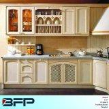 Neue Entwurfs-Ausgangsmöbel-festes Holz-Küche-Schränke