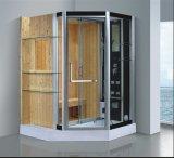 1500mm sauna combinée avec une douche de vapeur (au-D8866)