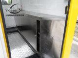 Nourriture de rue grillant le mobile de remorque de chariot de kiosque à vendre effectué en Chine
