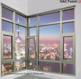 Heißes Verkaufs-Aluminiumlegierung amerikanisches Stype Flügelfenster-Fenster mit Fiberglas Flynet