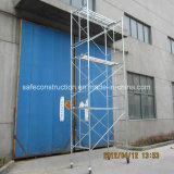 Het veilige SGS Overgegaane Frame van de Ladder van de Steiger voor Bouw
