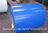 カラーの製造所はGalvalumeの鋼鉄コイルのロールスロイスPrepainted電流を通されたシートPPGI PPGLに塗った