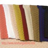 A tela do poliéster de rayon do Spandex do vestuário do jacquard do Knit para o vestuário veste a camisa