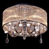 中国からの円形の水晶内部の現代天井ランプ