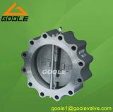 150lb/300lb/600lb de volledige Klep van de Controle van de Schommeling van het Wafeltje van het Type van Handvat (GALH76H)