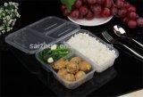 Contenitore a gettare dell'alimento di plastica dei 3 scompartimenti (SZ-112)