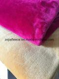 La casa a doppia faccia tinta del pigiama del panno morbido della flanella copre i tessuti,