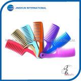 Peine común lindo plástico colorido del cepillo de pelo del regalo