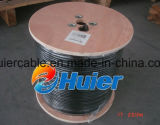 Câble coaxial de liaison chaud de l'ohm S400 de la vente 50 avec la couverture de la haute 95%