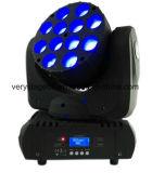 DMX512 크리 사람 LED 12X10W RGBW 4in1 광속 세척 LED 이동하는 헤드