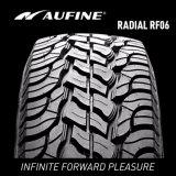 Lärmarmer Auto-Reifen mit festem Schulter-Muster-Entwurf