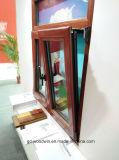 Het Hout van Woodwin van Foshan en het Venster van de Schuine stand en van de Draai van het Openslaand raam van het Aluminium