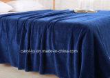Cobertor macio super do teste padrão do jacquard do velo de Microfiber