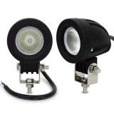 Des CREE Chip-10W LED Auto Selbst-SUV ATV 4WD 4X4 nicht für den Straßenverkehr LED Arbeits-des Licht-2 des Zoll-12V Nebel-Lampen-Motorrad-LKW-Scheinwerfer fahrend