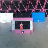 삼각형 모양 감응작용 접촉 센서 휴대용 무선 휴대용 이동할 수 있는 스피커