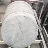 Countertop van Carrara van de Verkoop van de fabriek Directe Witte Marmeren Tafelbladen
