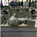 Etiqueta adhesiva de papel automático de la película de material en rollos de la máquina de corte (VCT-LCR)