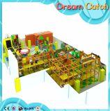 Спортивная площадка корабля пиратов мягкой игры детей большая крытая