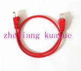 8 Número de conductores y tipo CAT 6 CAT6 Cable de conexión UTP / Cable de computadora / Cable de datos / Cable de comunicación / Cable de audio / Conector