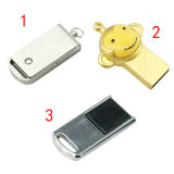 Caricatura de disco Flash USB Mini USB Pendrive USB de metal
