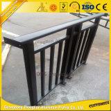 Décoration de plein air les plus populaires des rails en aluminium clôture en aluminium