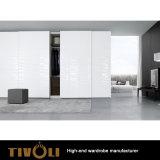 販売Tivo-0052hwのための狭く白い寝室のワードローブのキャビネットの家具