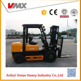 Vmax 3 Tonnen-Dieselmotor-angeschaltener Ladeplatten-Gabelstapler