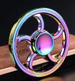 Fs075 friemelt de Ronde van de Legering van het Zink van het Wiel de Spinner van de Hand van de Spinner voor het Bevrijden van de Spanning
