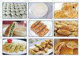 Linha de produção do Chapatti do bolo da pastelaria do bolo da mão da torta do Taco do Tortilla