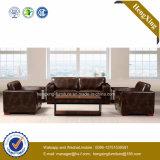 Sofá moderno do escritório do sofá do couro genuíno de mobília de escritório (HX-CF019)
