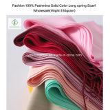 Vente en gros molle d'écharpe de Madame Fashion Long Plain Hijab de châle de cachemire de vente chaude