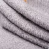 Tessuto cotone/delle lane per il cappotto di inverno nel Gray