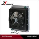 Refrigerador de petróleo hidráulico de aluminio confiado del excavador de la placa de la barra de la calidad