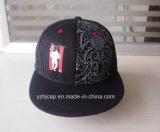 Nuevo sombrero de acrílico del Snapback del casquillo de la era del estilo con diseño del bordado
