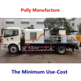 Fabrication de poulie pompe concrète de remorque électrique de 110 kilowatts (HBT80.16.116S)