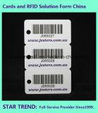 Nichtstandardisierte kombinierte Karte mit Barcode-Locher für Befestigungsteil-Speicher