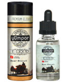 Yumpor 30ml氏のガラスビンのEliquidの自然な味のEjuiceの高い純度のニコチンおよびPg/Vg