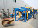 Bloc concret de Qt4-15b faisant à machine la machine creuse automatique de brique