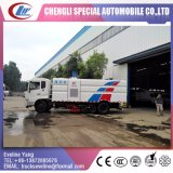 pulizia ad alta pressione di 4X2 180HP e camion della spazzatrice da vendere