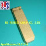 Formato differente del rifornimento dei perni calibro d'ottone con il rivestimento del nichel (HS-UK-002)
