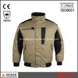 Segurança vestuário do inverno Bomber Jacket Pilot