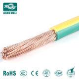 16mmのアース線か電気ワイヤーおよびケーブル16mm/16 AWGの固体銅線