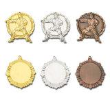 Antigüedades personalizado para el don de la medalla de metal