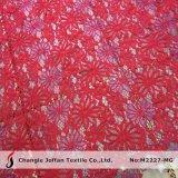 Tessuto di lavoro a maglia del merletto del cavo del filo di ordito da vendere (M2227-MG)