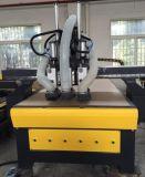 Máquina doble multiusos del ranurador de la carpintería del CNC de la máquina de grabado del CNC del eje de rotación